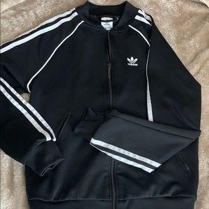 women's adidas zip up jacket